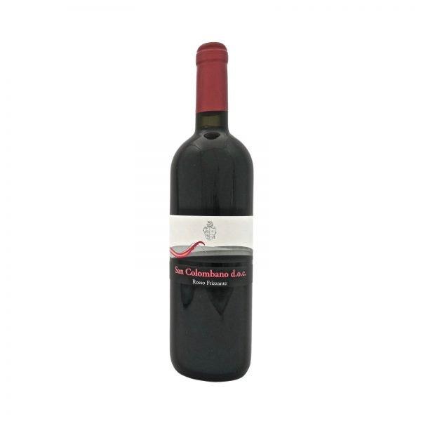 Vino San Colombano Rosso Frizzante - Azienda Vitivinicola Vini Gugliemini Pavia Lodi Milano
