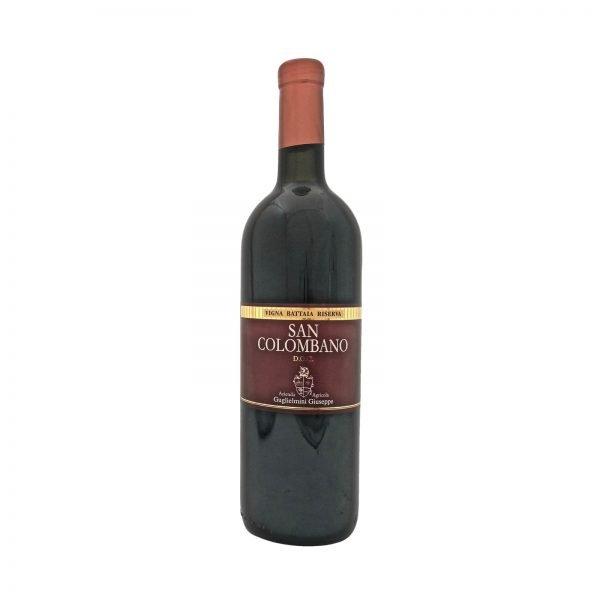 Vino San Colombano Vigna Battaia Riserva - Azienda Vitivinicola Vini Gugliemini Pavia Lodi Milano